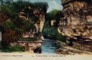 1 vue  - vallée du Rhône - la passerelle d'ARLOD (ouvre la visionneuse)