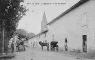 1 vue  - L'église et la vieille route (ouvre la visionneuse)