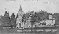 1 vue  - l'Eglise et le château Bouchet (ouvre la visionneuse)