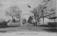 1 vue  - la Valbonne - école de tir - l'entrée (ouvre la visionneuse)