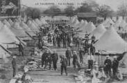 1 vue  - La Valbonne - Vue des tentes - La Literie (ouvre la visionneuse)