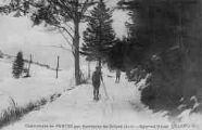 1 vue  - Chartreuse de Portes par Serrières-de-Briord - sports d'hiver (ouvre la visionneuse)