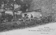 1 vue  - Vue d'une section du Rucher de M. Taillandier, apiculteur à Bénonces (ouvre la visionneuse)