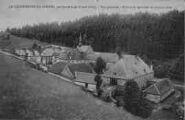 1 vue  - Chartreuse de Portes - vue d'ensemble - bâtiments agricoles au premier plan (ouvre la visionneuse)