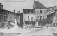 1 vue  - place et statue Francisque-Allombert (ouvre la visionneuse)