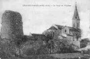 1 vue  - la Tour et l'Eglise (ouvre la visionneuse)