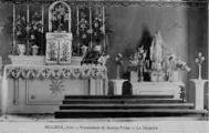 1 vue  - pensionnat de jeunes filles - la chapelle (ouvre la visionneuse)
