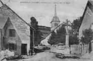 1 vue  - église et place de de l'Eglise (ouvre la visionneuse)