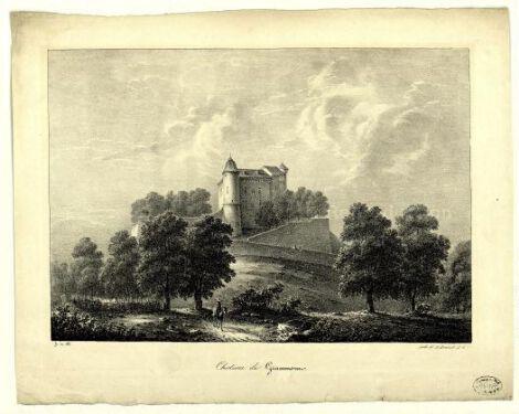 Chateau de Grammont / Hubert de Sain-Didier ; H. Brunet et Cie.  H. Brunet et Cie XIXe siècle