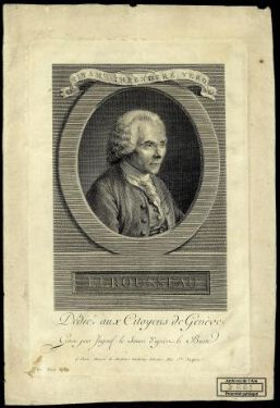 J.J. Rousseau / Ingouf le Jeune.  Paris Maison de Madame Duchesne Libraire (A.P.D.R) xIX