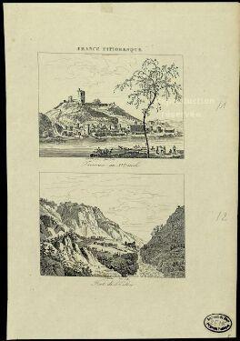 Trevoux au XVIe siècle / Widerkehr ; Fortier.  XIXe siècle