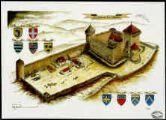 Ouvrir l'image  Le château des Allymes / Robert Charnet.